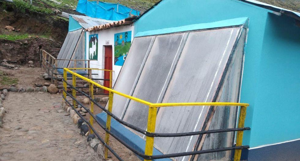 Con 'casitas calientes' 399 familias vencen las heladas en Junín