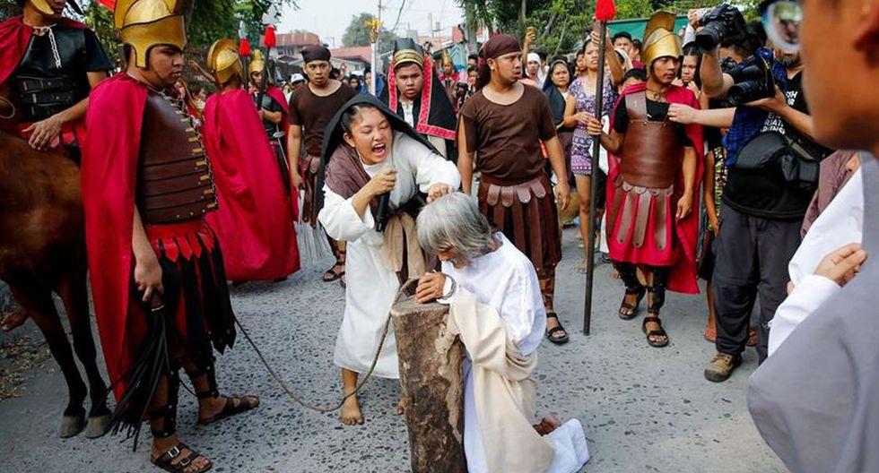 Las crucifixiones son el foco de la atención mediática en la Semana Santa de Filipinas. (Foto: EFE)