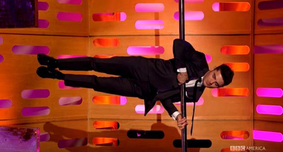 Zac Efron hizo un 'pole dance' y sorprendió a todos (BBC)