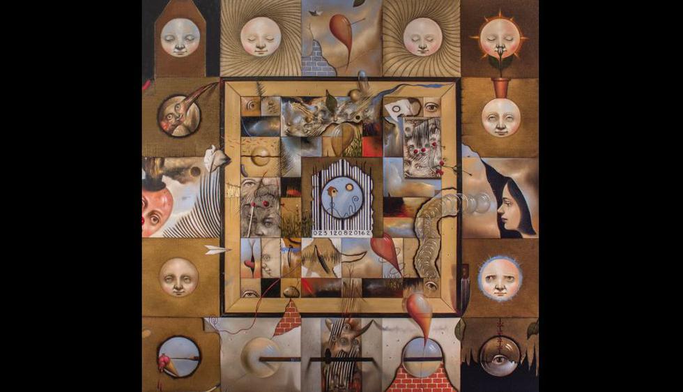 Pintura óleo sobre tela de Jorge Vigil (Difusión).
