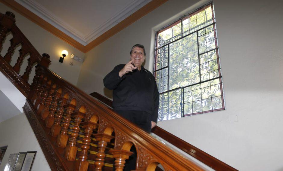 Alan García reapareció tras la negativa de Uruguay de brindarle asilo. (Mario Zapata/GEC)