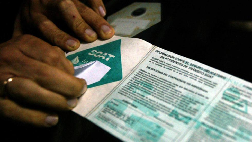 SOAT electrónico podrá ser adquirido a partir del 30 de julio según Apeseg. (USI)