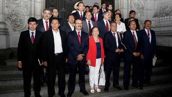 La bancada de Acción Popular eligió a su nuevo vocero en el Congreso. (Foto: César Bueno / GEC)