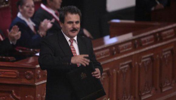 YA NO LO QUIEREN. Lo acusan de dañar la imagen presidencial. (Martín Pauca)