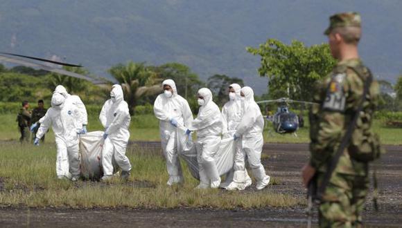 Duro golpe a la guerrilla. (Reuters)