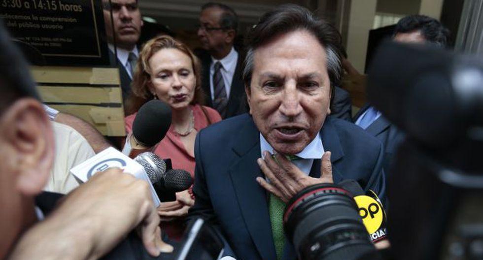 Alejandro Toledo deberá pronunciarse sobre la cuenta bancaria. (Luis Gonzales)