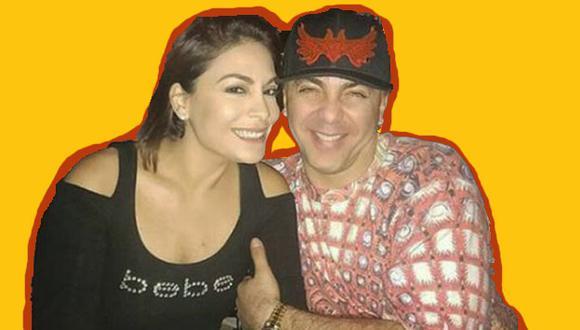 Evelyn Vela y Cristian Castro. (Instagram / @evelynvelaa)