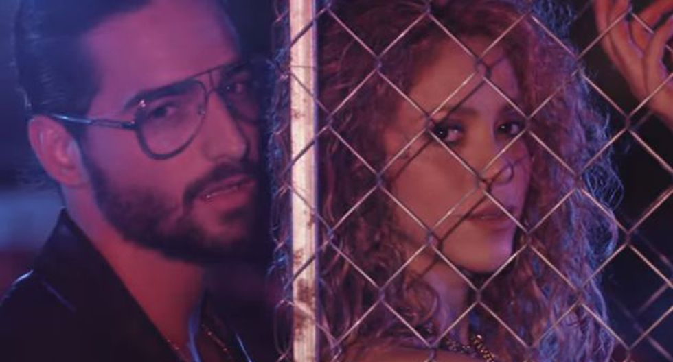 YouTube: Shakira y Maluma estrenaron su nuevo video 'Clandestino'. (Captura Youtube)