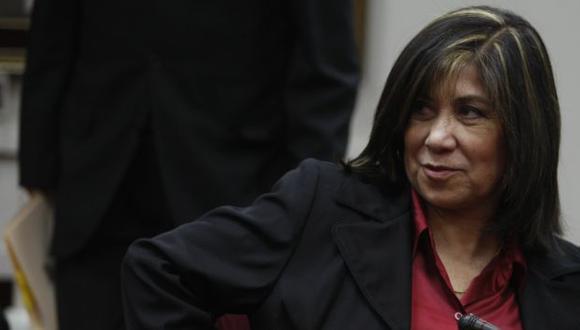 Martha Chávez sigue en su puesto pese a la protestas de los organismos de derechos humanos. (Perú21)