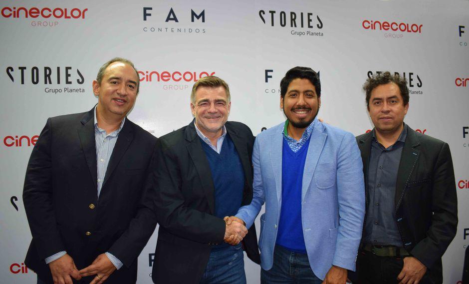 Cinecolor Grupo, Grupo Planeta y FAM Contenidos han firmado una importante alianza. (Foto: Difusión)