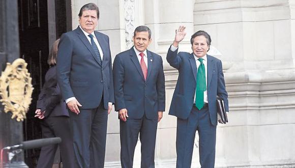 Caso Lava Jato: Investigarán cuentas de Ollanta Humala, Alejandro Toledo y Alan García (USI)