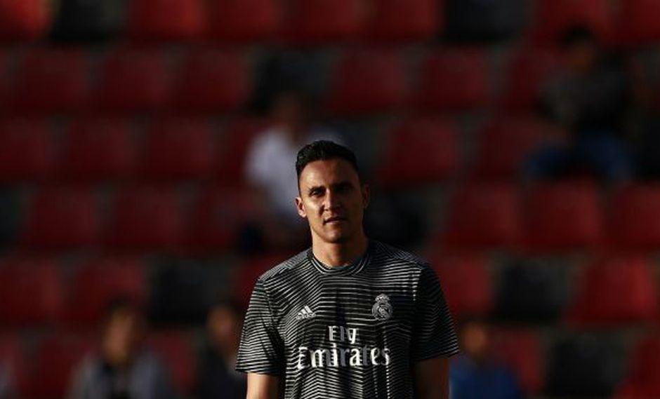 Real Madrid formalizaría la salida de Keylor Navas en los próximos días. (Foto: AFP)