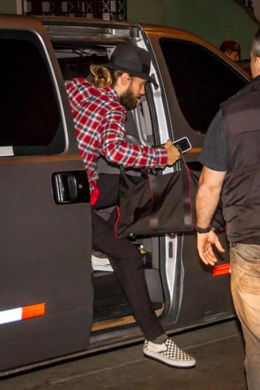 Jared Leto y compañía llegaron a Lima anoche. (M3 Studio/Maurice Cateriano)