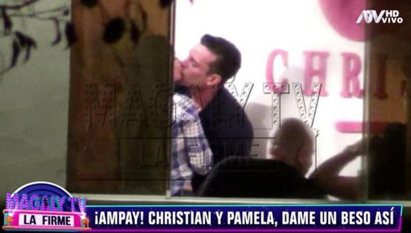 Christian Domínguez publicó un video que parece responder al reciente ampay que publicó Magaly Medina. (Imagen: ATV)