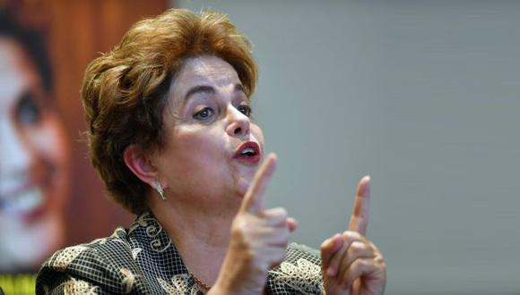 Dilma Rousseff brindó conferencia en México. (AFP)