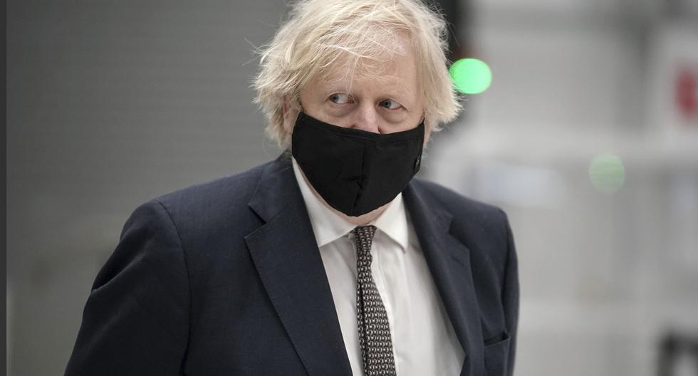 El primer ministro del Reino Unido, Boris Johnson. AP