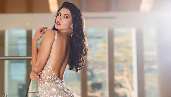 Kelin Rivera se despidió del Miss Universo 2019, tras desfile de traje de gala. (Imagen: Instagram)