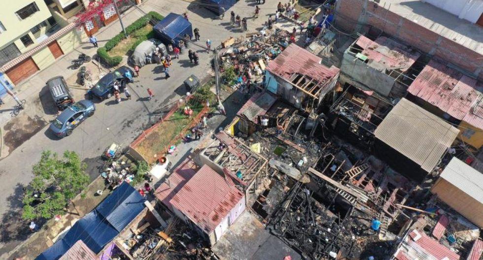Incendio ocurrió el pasado 12 de marzo y causó la muerte de un hombre de 84 años (Foto: Daniel Apuy)