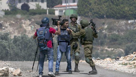 Incidente fue denunciado por la Asociación de Prensa Extranjera en Israel y Palestina. (Foto: AFP)