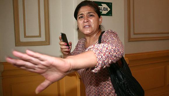 Obregón agredió al reportero de Perú21 en mayo del año pasado. (David Vexelman)