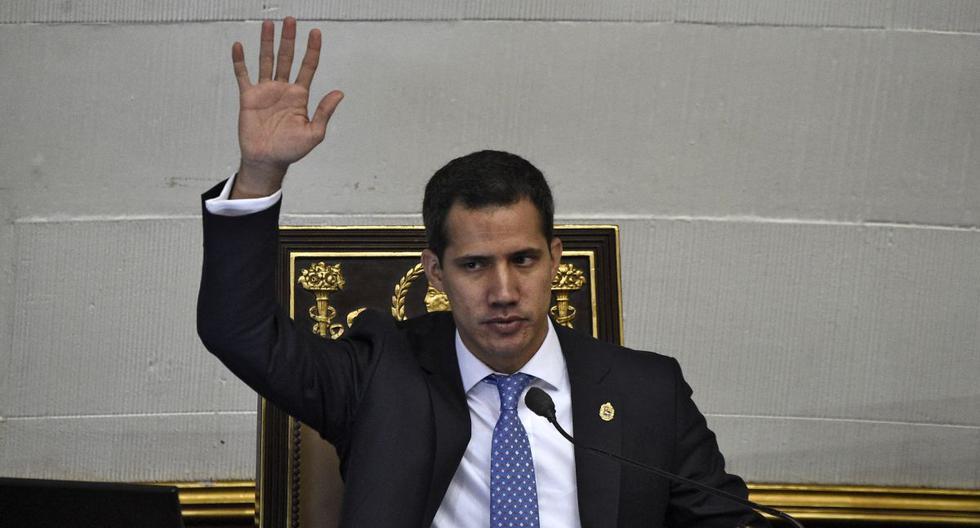 """La oposición venezolana calificó como un """"golpe al Parlamento"""" la elección de Luis Parra. (AFP)"""