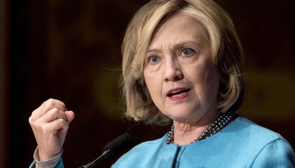 Hillary Clinton sostiene que no es necesario recurrir a la tortura para protegerse del terrorismo. (AP)