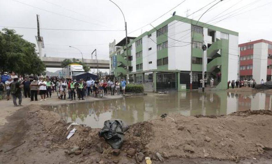 Según norma publicada hoy en El Peruano, San Juan de Lurigancho es declarado en emergencia sanitaria. (Foto: GEC/Anthony Niño de Guzmán)