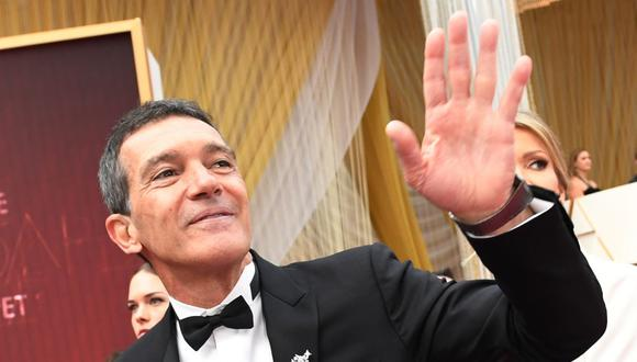 Antonio Banderas se convirtió en un ícono español que triunfa en Hollywood. (Foto de VALERIE MACON / AFP)