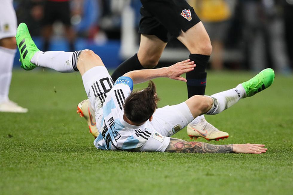 Croacia registra puntaje perfecto tras cumplir las dos primeras jornadas del grupo D del Mundial. (GETTY IMAGES)