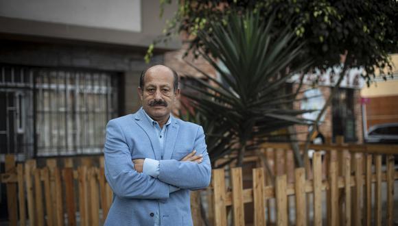 El congresista electo Héctor Valer Pinto fue separado de la bancada de Renovación Popular por Rafael López Aliaga. (photo.gec/Joel Alonzo)
