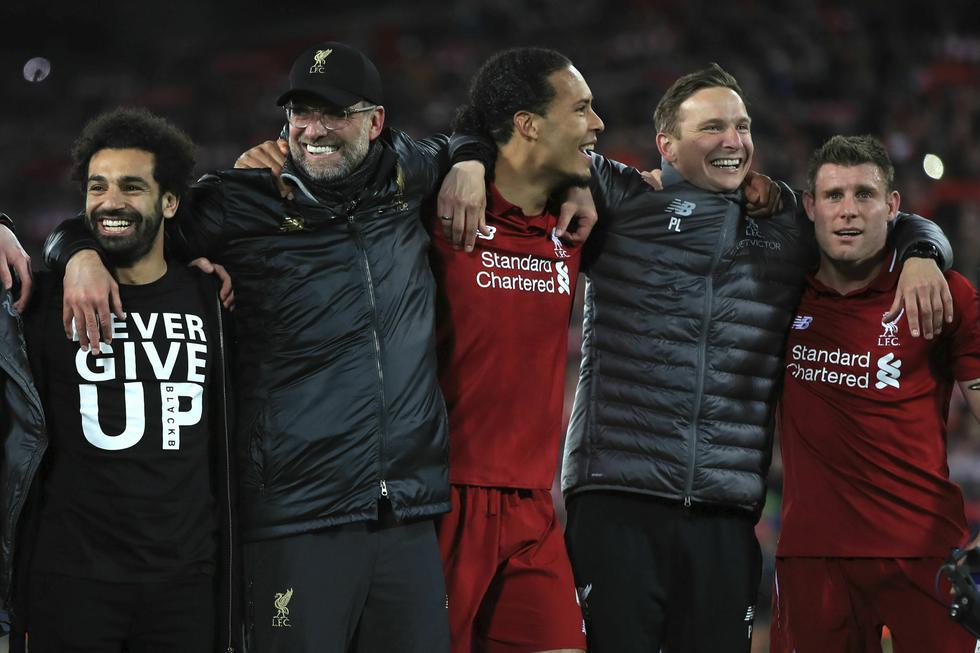 Los 'Reds' realizaron un nuevo milagro en el Anfield Road por Champions League. (AFP)