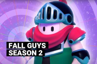Fall Guys Season 2: alocadas carreras en la Edad Media