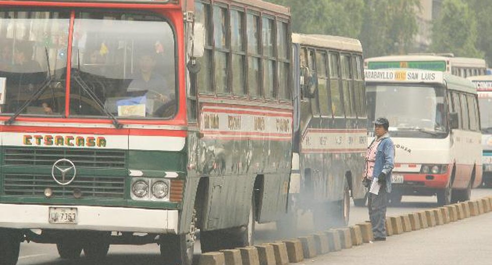 Velocidad promedio del tráfico a 14 kilómetros por hora en Lima. (USI)