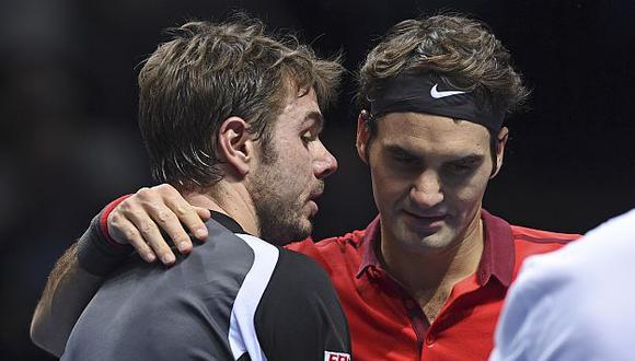 Wawrinka y esposa de Federer habrían tenido problemas. (AP)