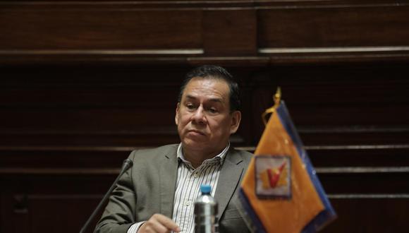 José Vega es el candidato presidencial de UPP. (Foto: GEC)
