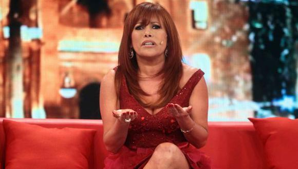 Magaly Medina aseguró que no le importan las críticas. (Latina)