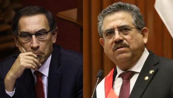 La Subcomisión aprobó dos informes presentados por Manuel Merino y miembros de Acción Popular contra Martín Vizcarra (GEC).