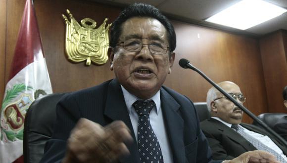 El sábado fue elegido decano. (Perú21)