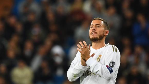Eden Hazard se perderá el partido de Real Madrid contra Real Betis. (Foto: EFE)
