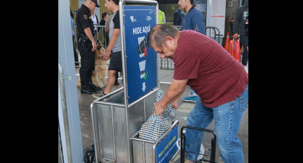 Incrementan medidas de seguridad. (Foto: Metro de Lima)