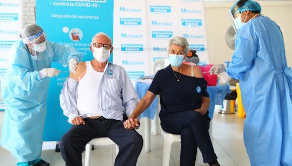 Minsa precisó que son 1 millón 300,000 los adultos mayores que están registrados en el Perú en este rango de edad (Foto: Hugo Curotto/GEC)