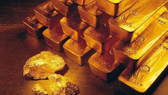 Hoy los futuros del oro en Estados Unidos cedían 0.2%, a US$1,209.20 la onza. (Foto: AP)