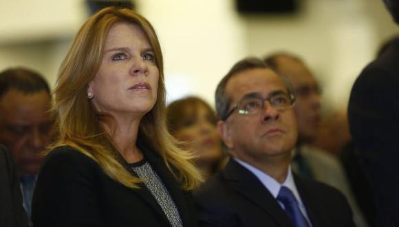 Cayetana Aljovín asegura que el Gobierno perfeccionará los programas sociales. (Piko Tamashiro)