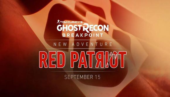 Una nueva aventura estará disponible para Ghost Recon Breakpoint  desde el 15 de setiembre.