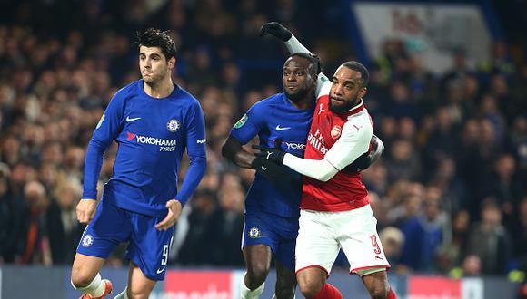 Chelsea y Arsenal empataron 0-0 en Stamford Bridge, donde se desarrolló la primera semifinal entre ambos equipos. (GETTY IMAGES)