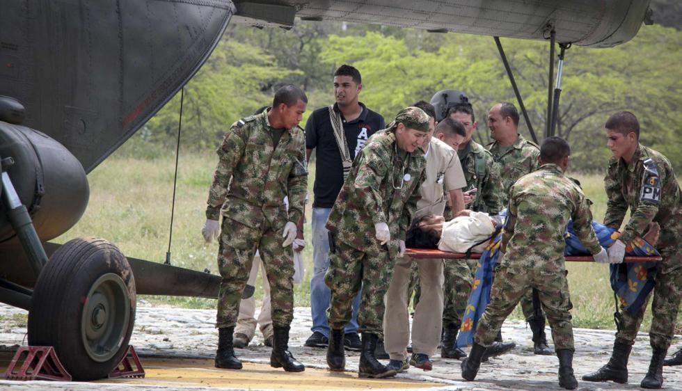 Los heridos fueron trasladados a un centro médico especializado de Santa Marta. (Reuters)