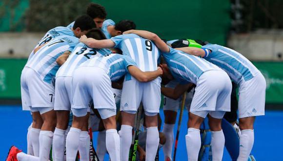 Argentina y Estados Unidos chocan por el pase a la final del hockey masculino de Lima 2019. (Foto: Lima 2019)