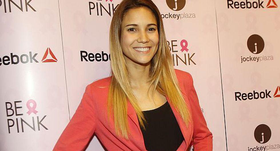 María Grazia Gamarra se alista para grabar otra telenovela. (USI)