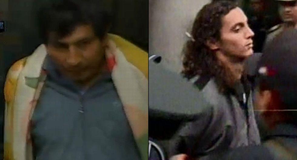 Jara y De Silva Santisteban ya están recluidos en penales. (Captura de TV)