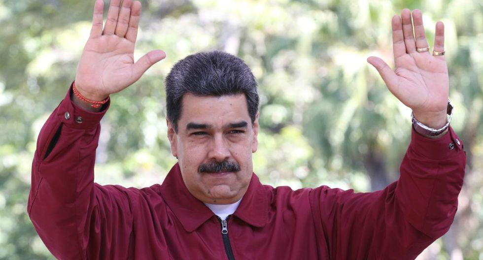 El presidente Nicolás Maduro mantuvo un encuentro con varios pastores evangélicos en Caracas. (Foto: AFP)